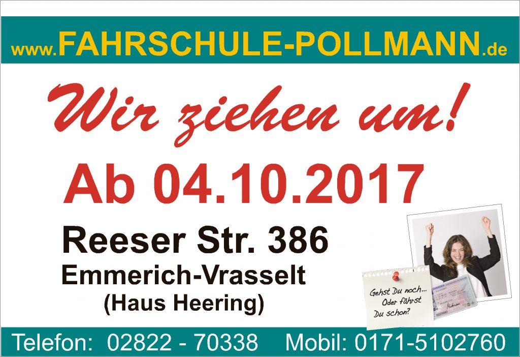 Fahrschule Praest - Wir ziehen um. AB 04.10.2017 in Vrasselt