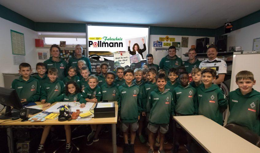 Gladbach Jugend bei uns in der Fahrschule Pollmann