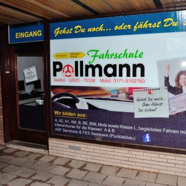 Info für die Fahrschule in Millingen!