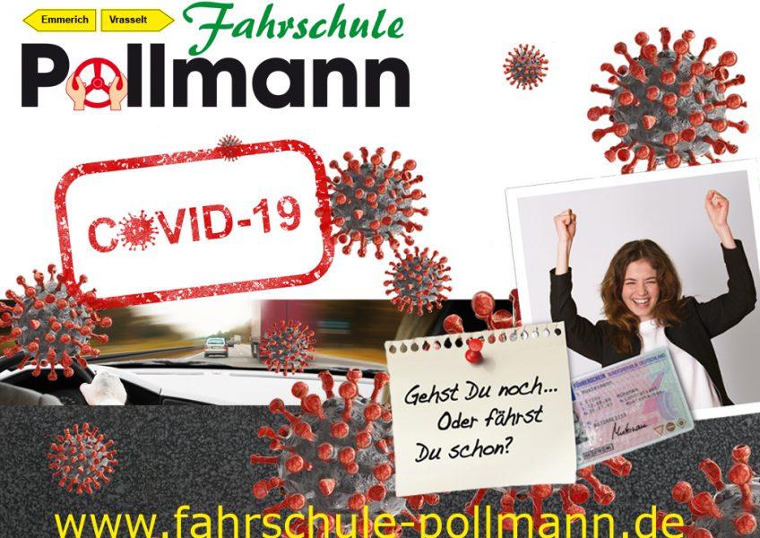 Fahrschule Pollmann - Corona Info 22-02-2021